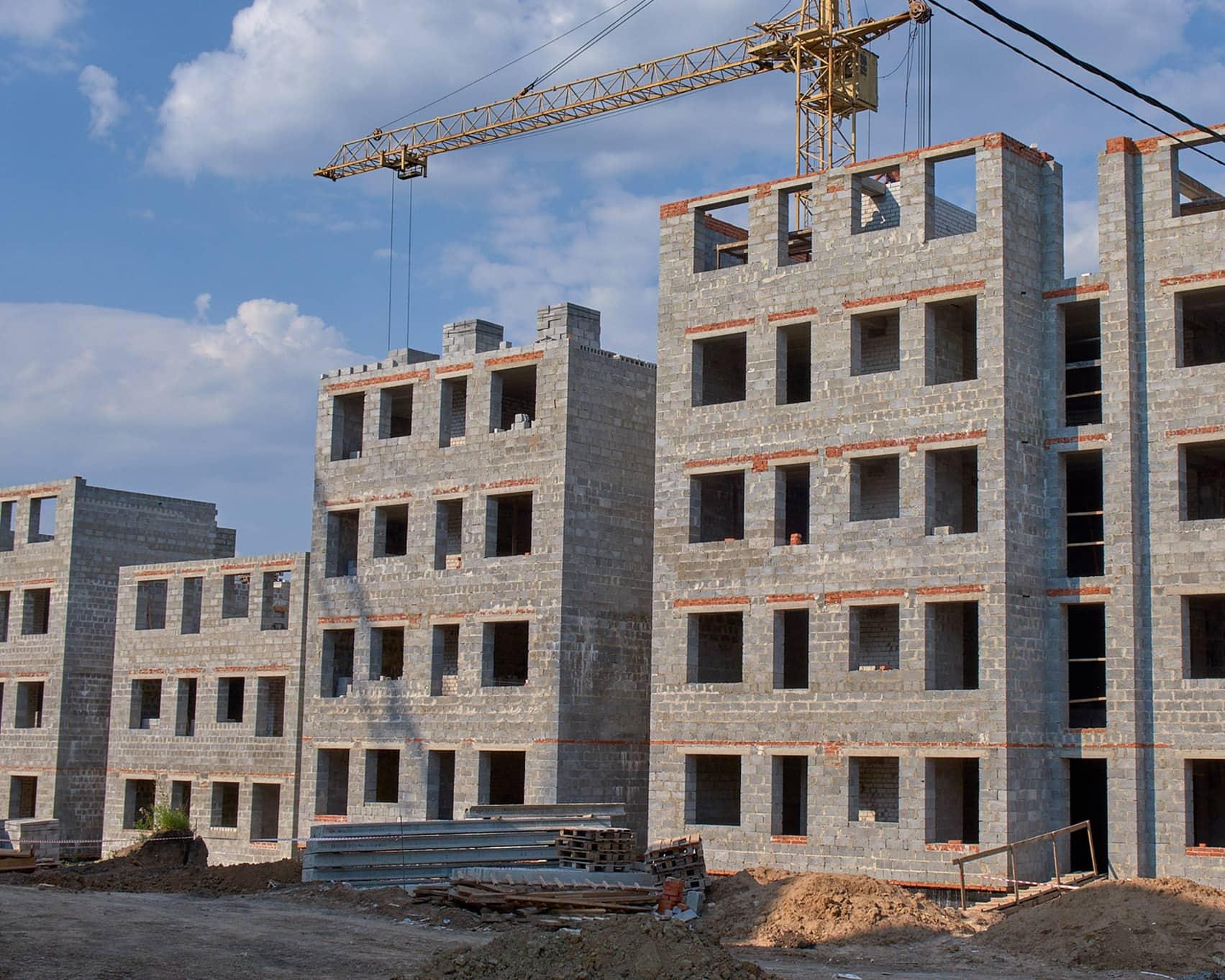 здание из керамзитобетона